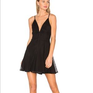 NWT Aida Mini Dress by NBD from Revolve in Black
